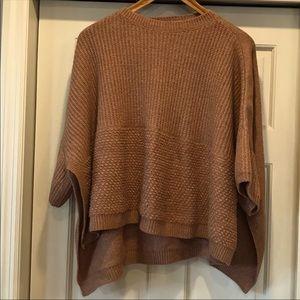 Universal Thread poncho type sweater OSFM